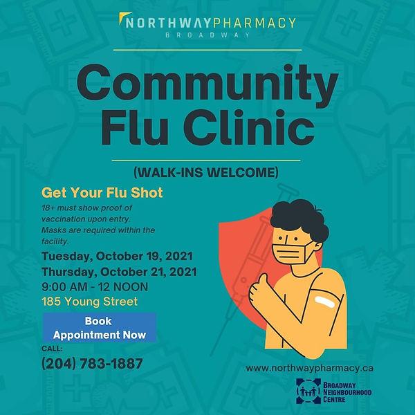 Community Flu Clinic information