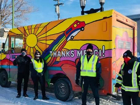 Generous donation from Winnipeg Postal Workers!