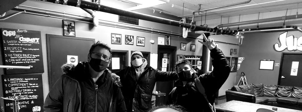 Staff selfie!