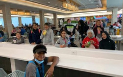 Rotary Kids go shopping