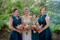 Hayley & bridesmaids