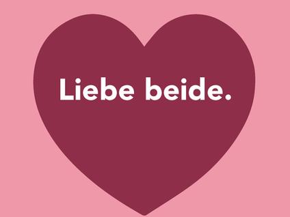 Liebe Beide ♥
