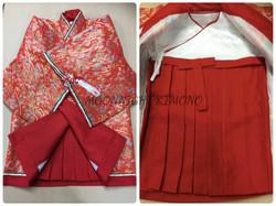 十二單衣風女嬰和服(100日-1歲用)