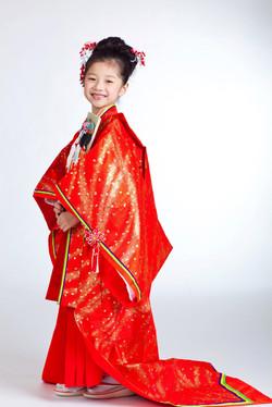 女兒十二單衣(8-12歲用)