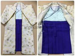 陣羽織風男嬰和服(100日-1歲)