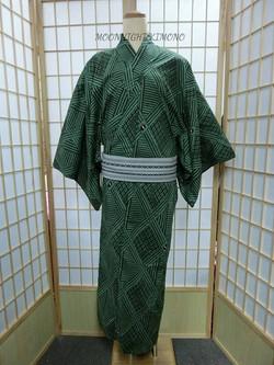 Jリーグ logo男裝浴衣