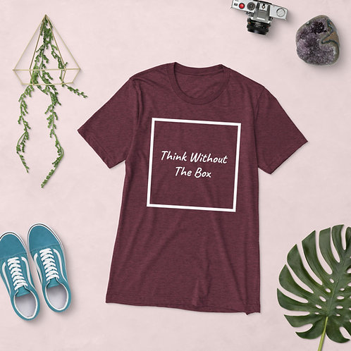 Think Without The Box - Short sleeve t-shirt
