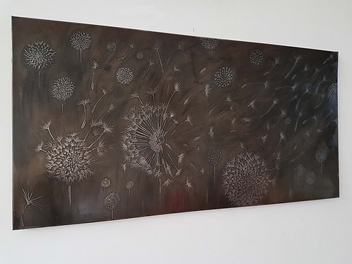 Large Recycled Steel Wall Art Panels