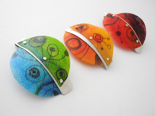 Inspired by Miro Brooches and Pendants