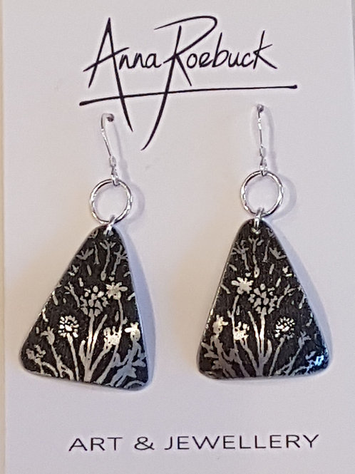 Out of Line Triangle Earrings