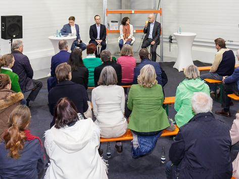 Podiumsdiskussion mit den Bürgermeisterkandidaten