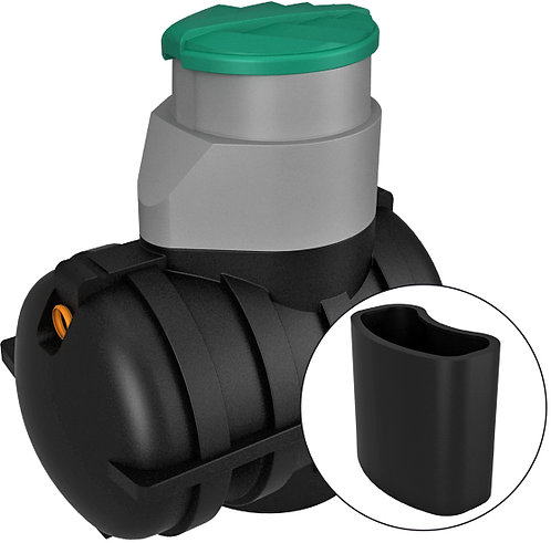 Купить септик «Росток» Дачный с насосным отсеком черный по цене производителя