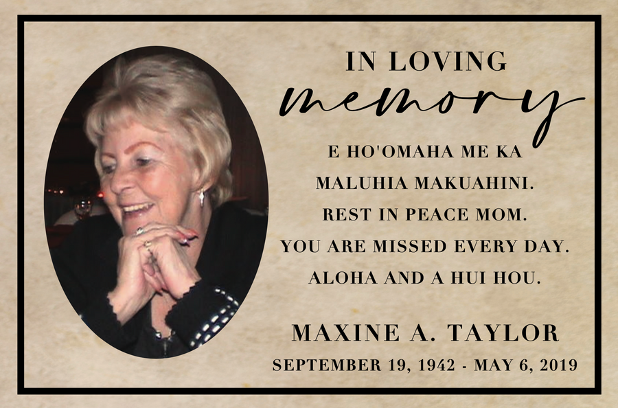 Maxine A. Taylor