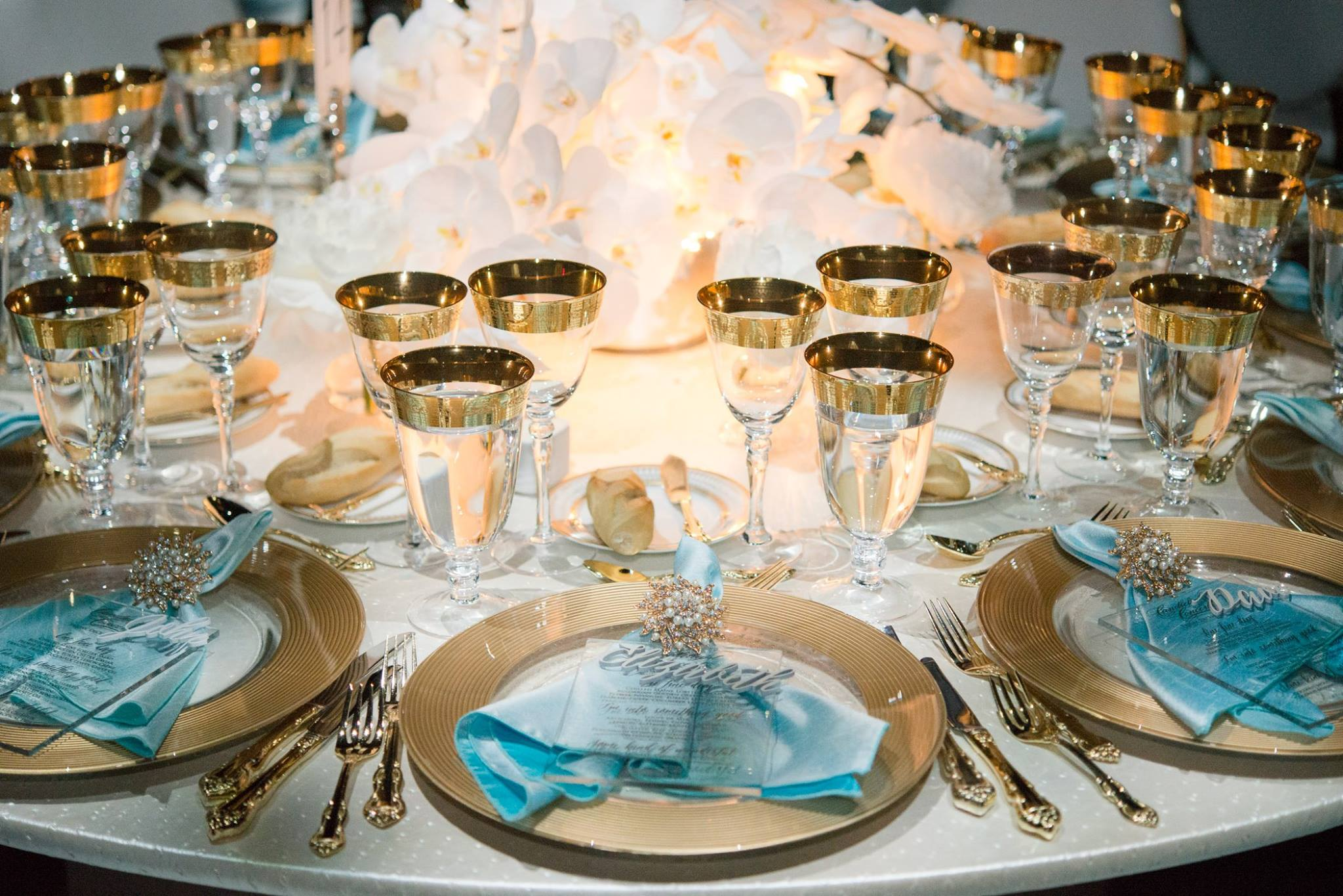 Candlelight Table Setting
