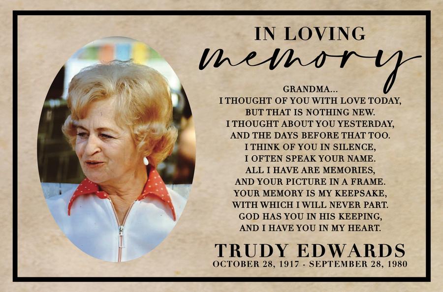 Trudy Edwards