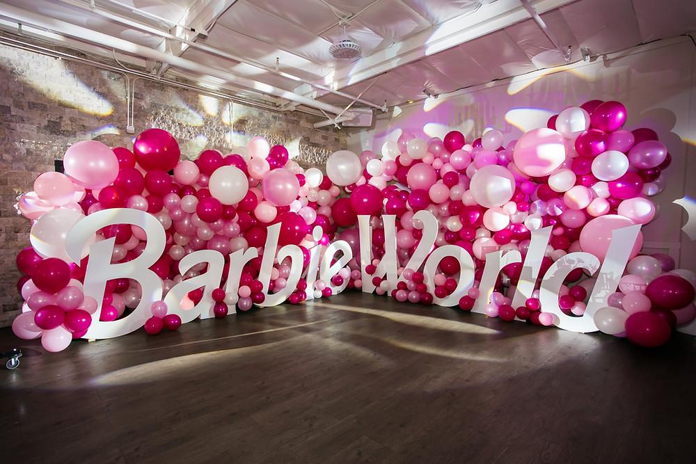 Barbie World Photo Op