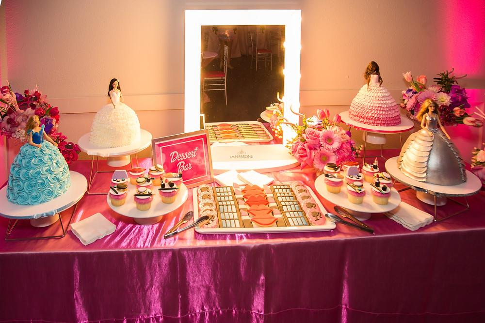 Barbie Vanity Dessert Station