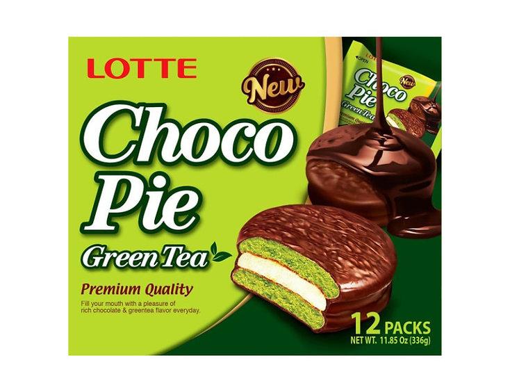 LOTTE CHOCO PIE - GREEN TEA