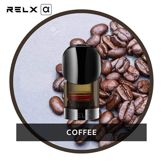 RELX Alpha Coffee Replacement Pods(2pc)