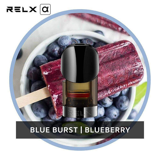 RELX Alpha Replacement Pods -  Blueberry