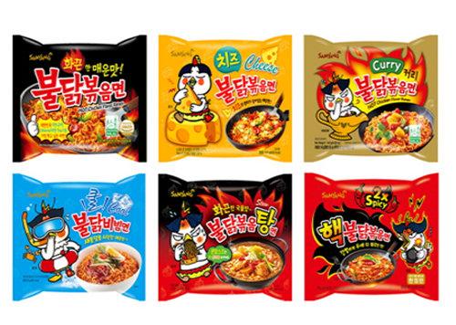 SAMYANG HOT CHICKEN RAMEN -火鸡面