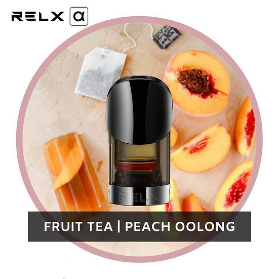 RELX Alpha  Replacement Pods - Peach Oolong