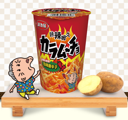 KOIKEYA SPICY POTATO STICKS