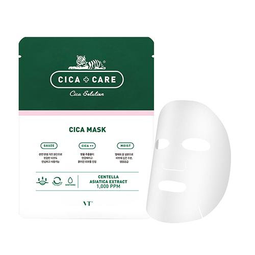 VT COSMETICS CICA FACIAL MASK