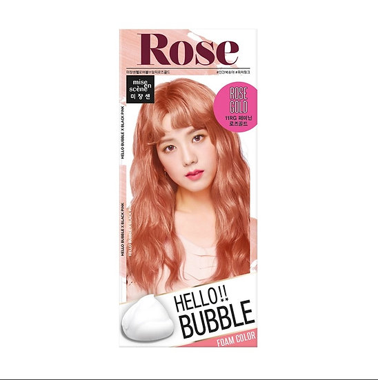 MISE EN SCENE - Hello Bubble Hair Color 「Rose Gold」