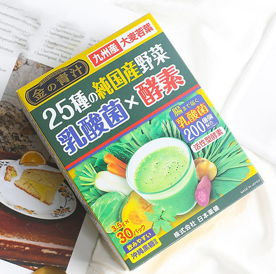 NIKON YAKKEN 25 PURE VEGETABLE LACTOBACILLUS ENZYME