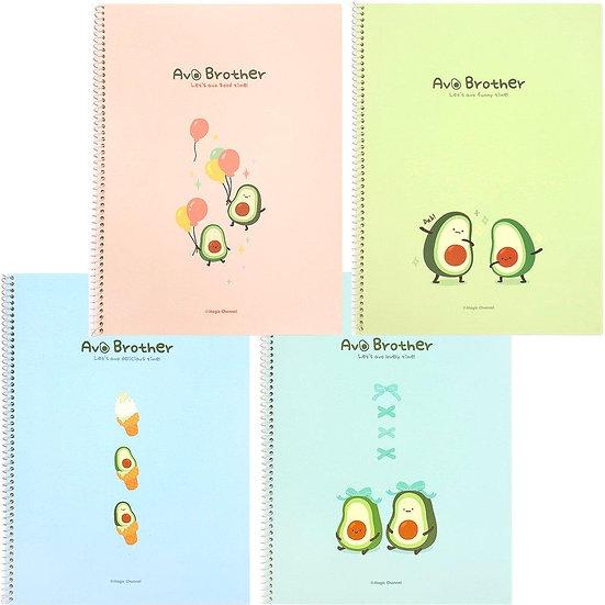 Avocado Brother Notebook