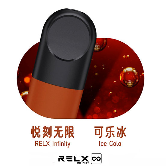 RELX Infinity Replacement Pods (3 pods) - ICE COLA 3%