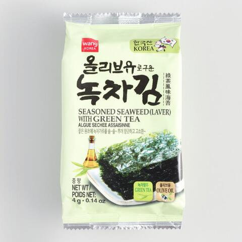 KOREA WANG SEASONED ROASTED SEAWEED (LAVER)