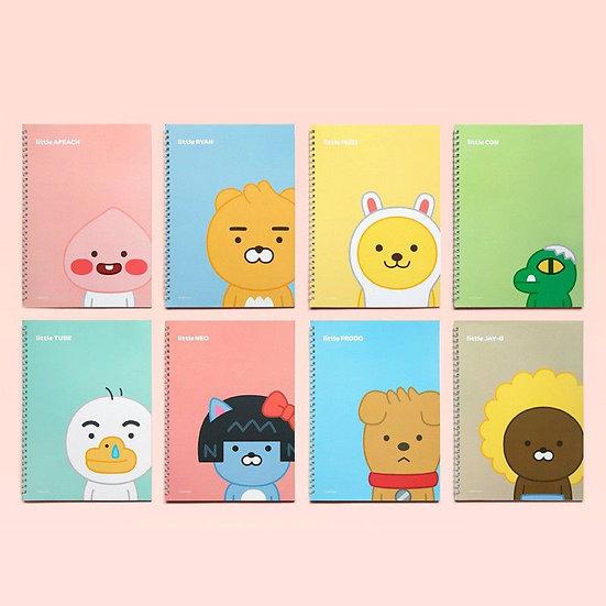 Kakao Little Friends Spiral Lined Notebook