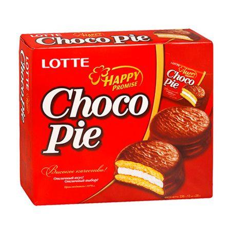 LOTTE CHOCO PIE (12 PACKS)