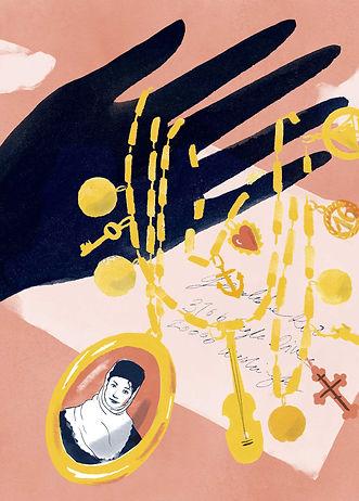 Illustration Barbara Ott dm Active Beauty Orange