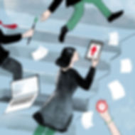 Illustration Barbara Ott Focus Business Agile Working
