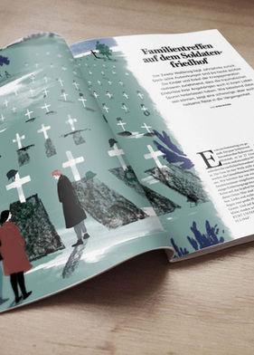 Psychologie Heute Barbara Ott Illustration Magazine