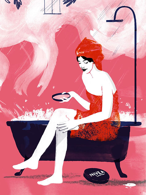 Illustration Barbara Ott dm Active Beauty