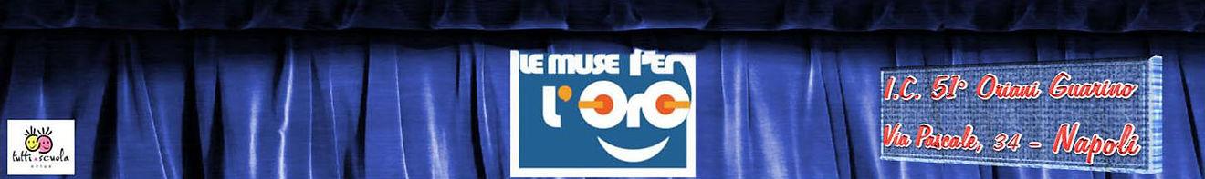 Logo dell'associazione Le Muse per l'oro