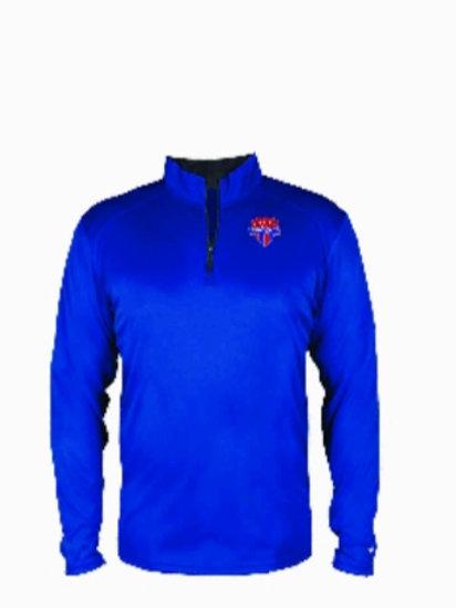 Solid Color Pullover Quarter Zip