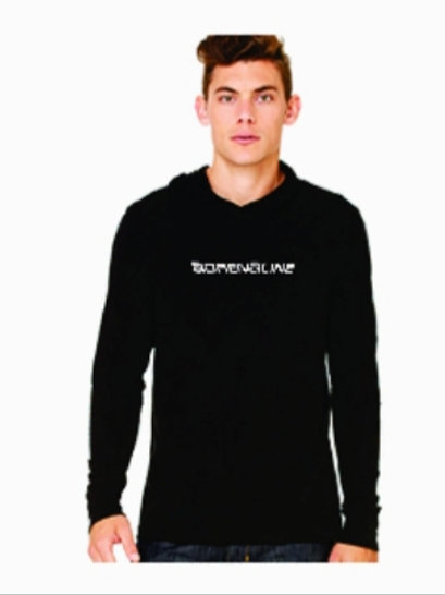 Men's long sleeve Hoodie T-shirt