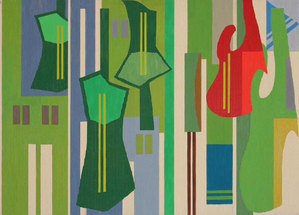 ND_Joni Mitchells Guitar_2020_Oil on cor