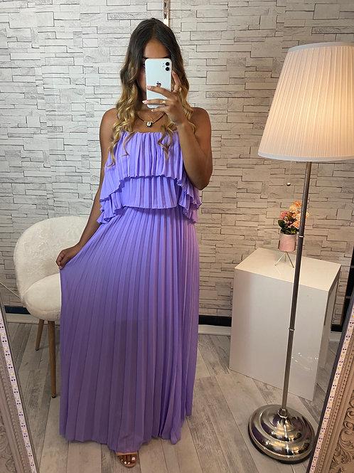 Robe Fanny violette