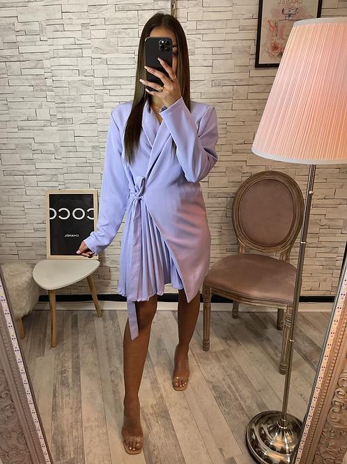 Robe blazer Mélissa violet