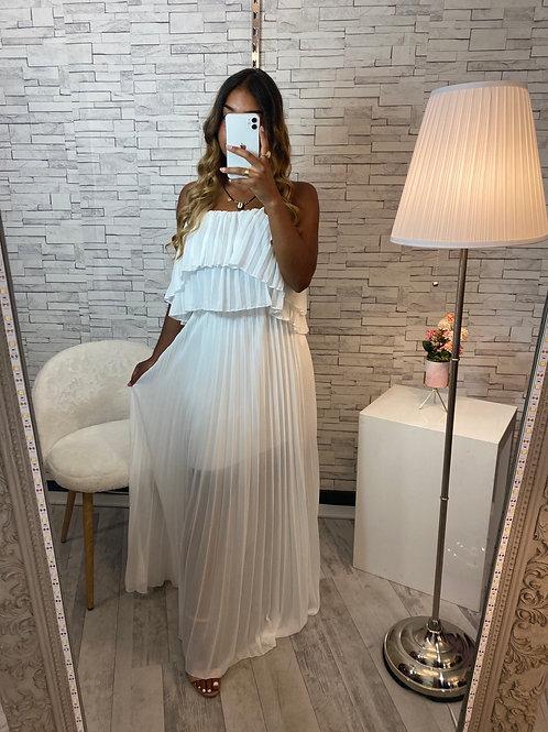 Robe Fanny blanche