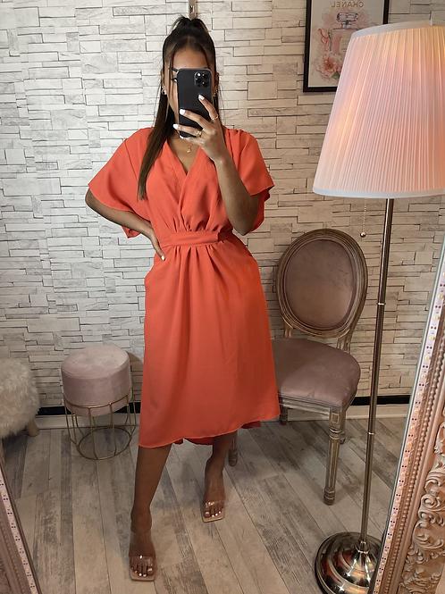 Robe Amel orange