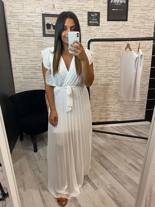 Robe Milena blanc