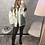 Thumbnail: Manteau bi matière Tatiana