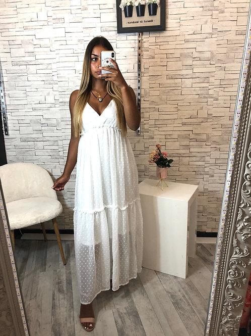 Robe Gabriella blanc